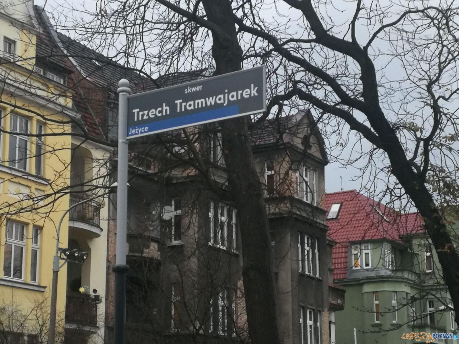 """Skwer Tramwajarek  Foto: Justyna """"justisza"""" Szadkowska."""