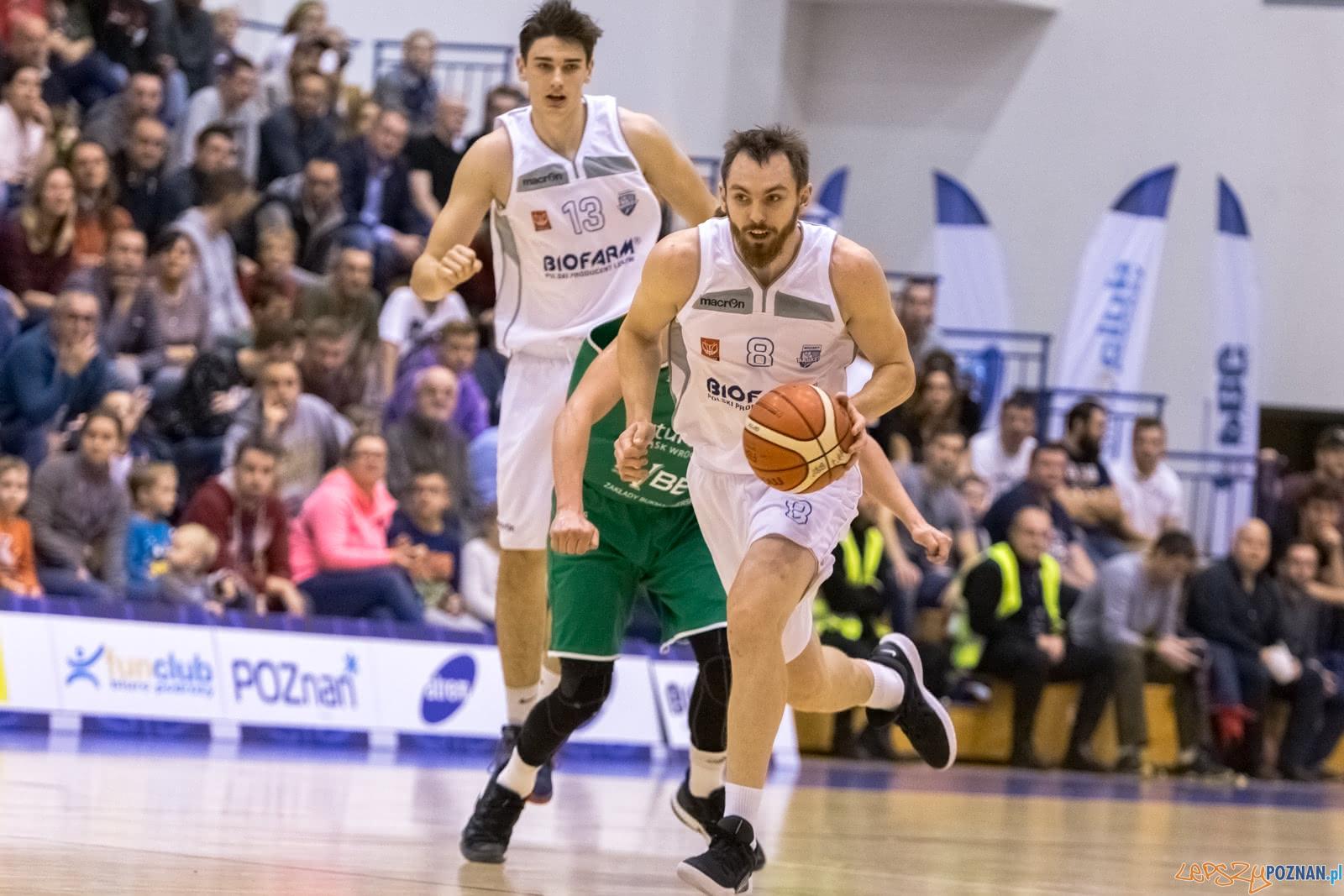 1 liga: Biofarm Basket Poznań - Śląsk Wrocław 70:79 - Pozna  Foto: LepszyPOZNAN.pl / Paweł Rychter