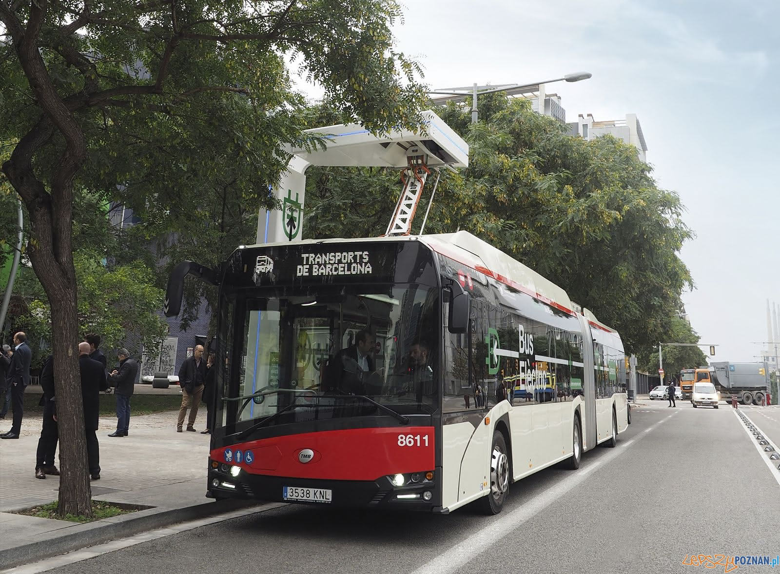 Solaris Urbino18 electric dla Barcelony  Foto: materiały prasowe