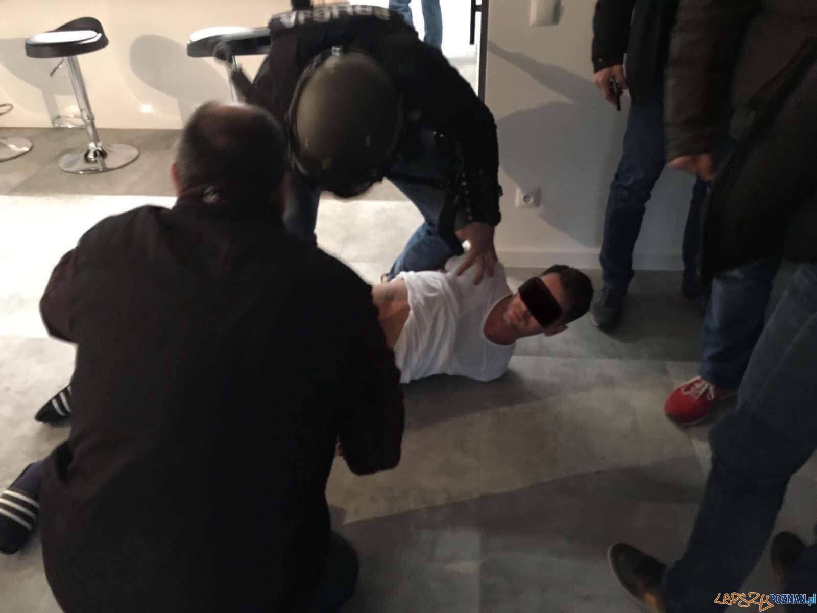 Zatrzymany bandyta  Foto: wielkopolska policja