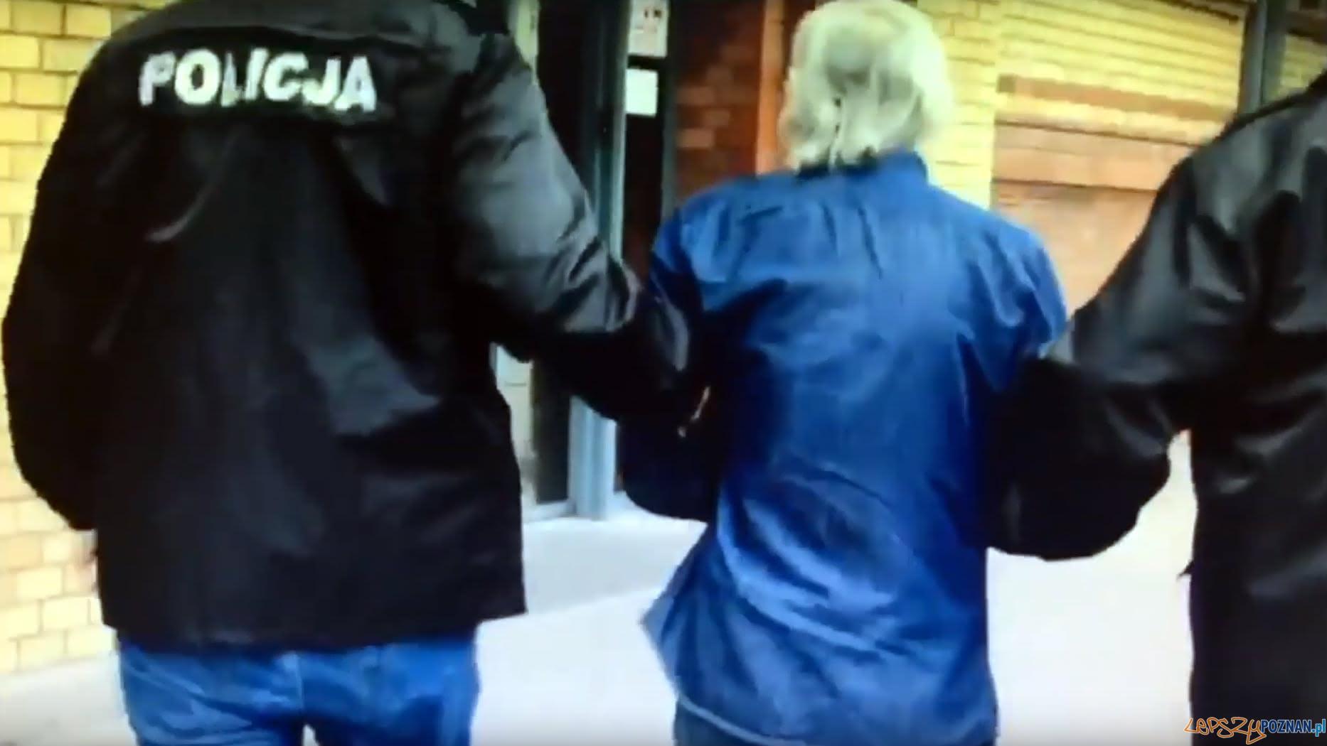 Napadał z bronią, rabował pieniądze  Foto: KMP w Poznaniu