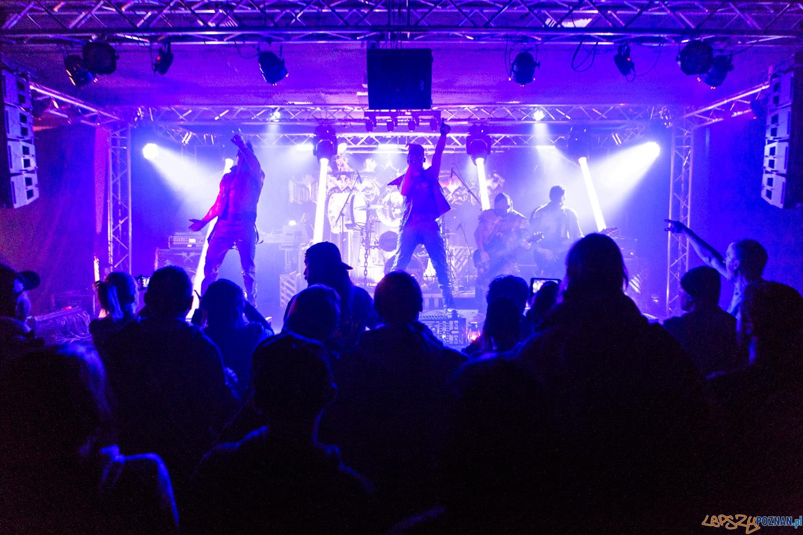 """Koncert Oberschlesien w klubie """"u Bazyla"""" - Poznań 19.01.2019 r  Foto: LepszyPOZNAN.pl / Paweł Rychter"""