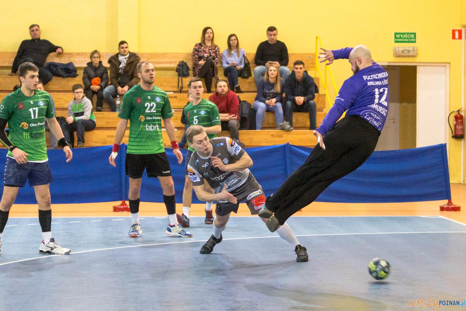 Mecz 12. kolejki I ligi piłki ręcznej mężczyzn WKS Grunwald  Foto: lepszyPOZNAN.pl/Piotr Rychter