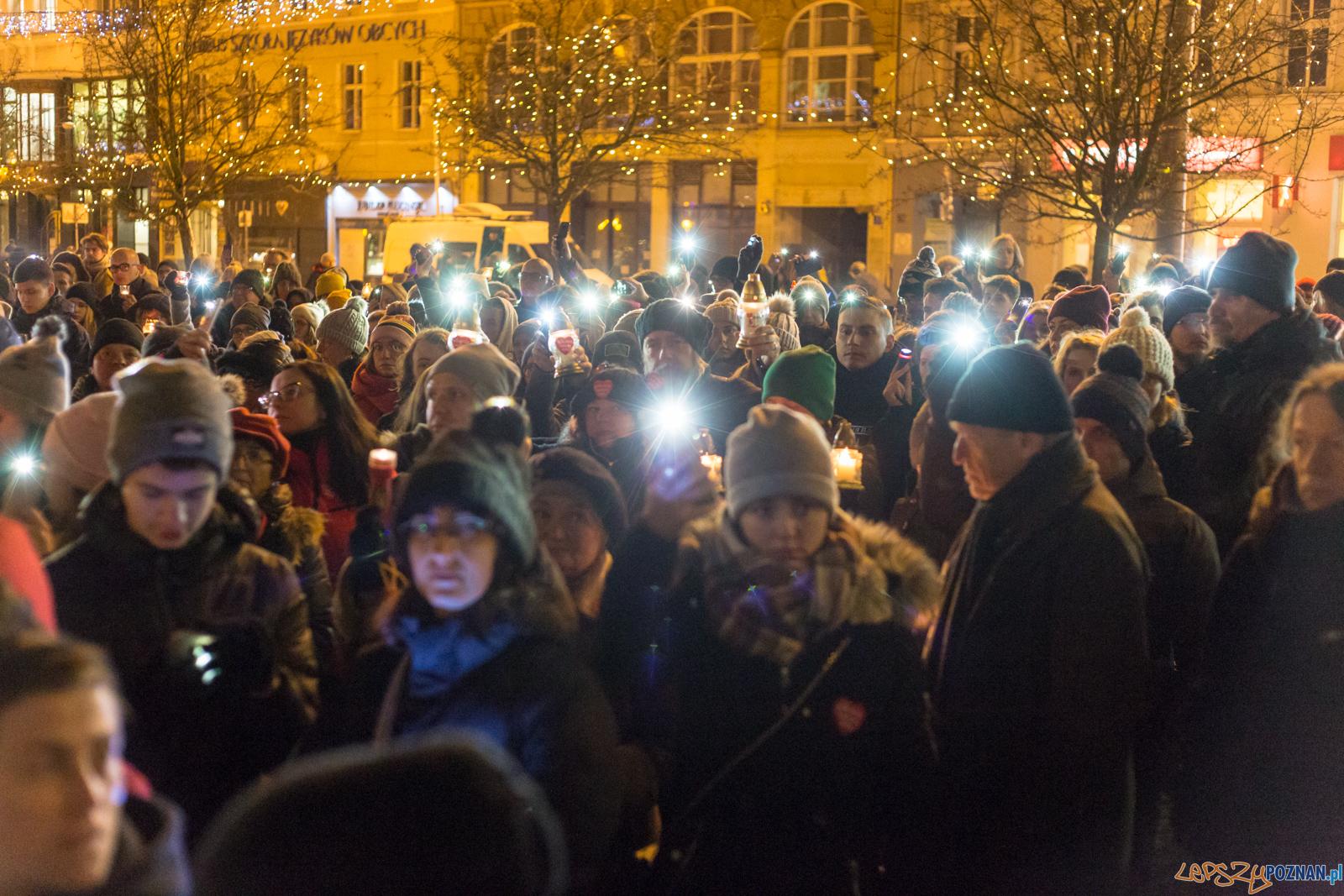 Poznań w żałobie  Foto: lepszyPOZNAN.pl/Piotr Rychter