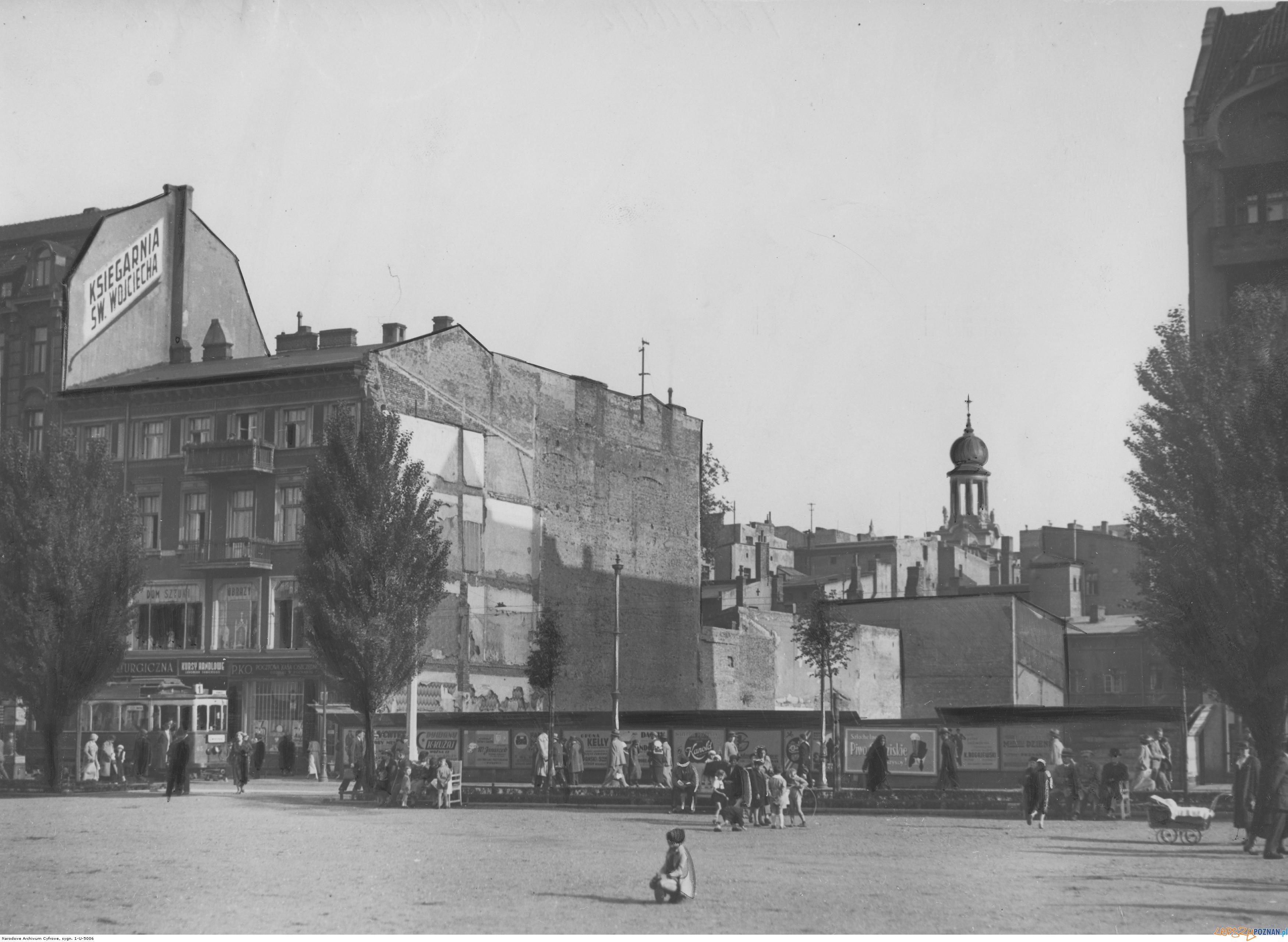 Plac Wolnosci 1935  Foto: IKC/ Narodowe Archiwu Cyfrowe / domena publiczna