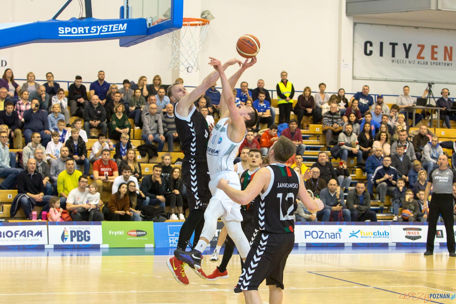 Biofarm Basket Poznań -  GKS Tychy  Foto: lepszyPOZNAN.pl/Piotr Rychter
