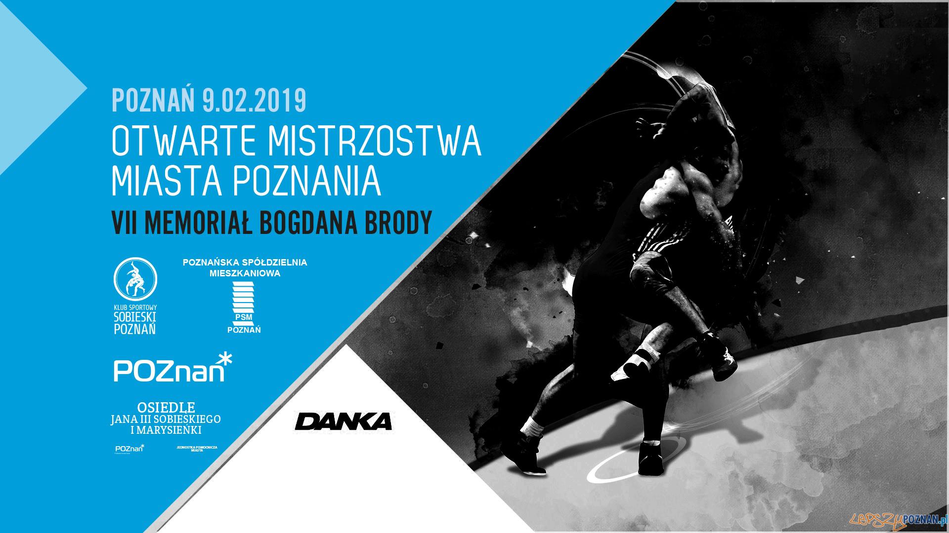 Mistrzostwa Miasta Poznania w Zapasach - Memoriał Bogdana Brody  Foto: materiały prasowe