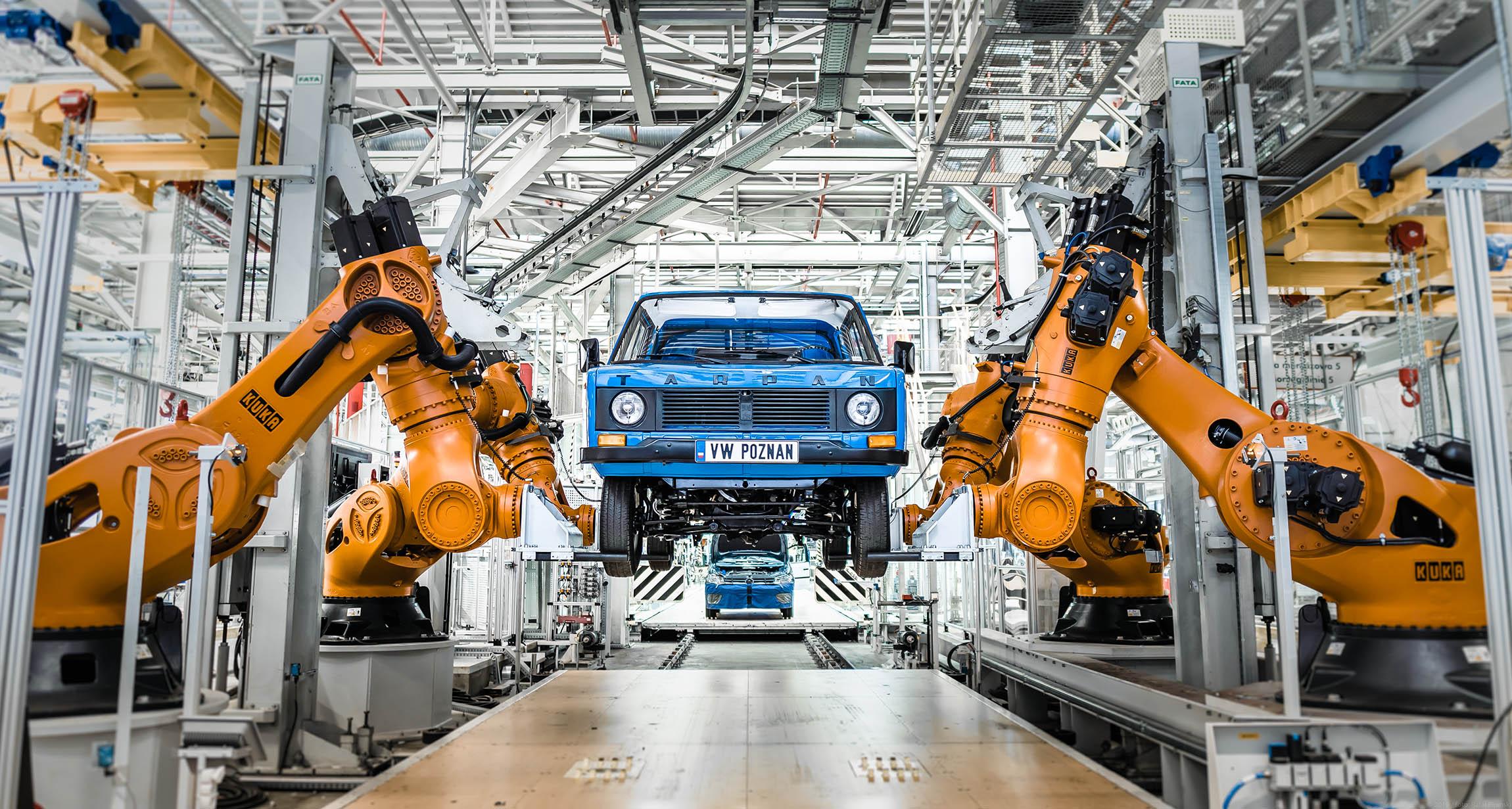 Tarpan w fabryce Volkswagena-02595  Foto: KINETIK  / materiały prasowe VW Poznań