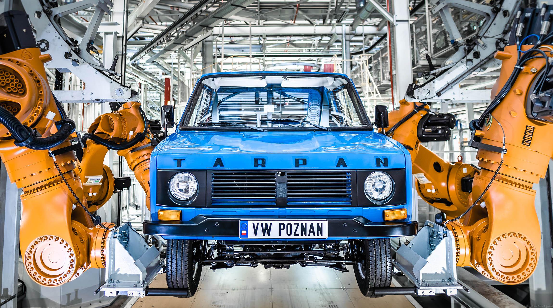Tarpan w fabryce Volkswagena  Foto: KINETIK  / materiały prasowe VW Poznań