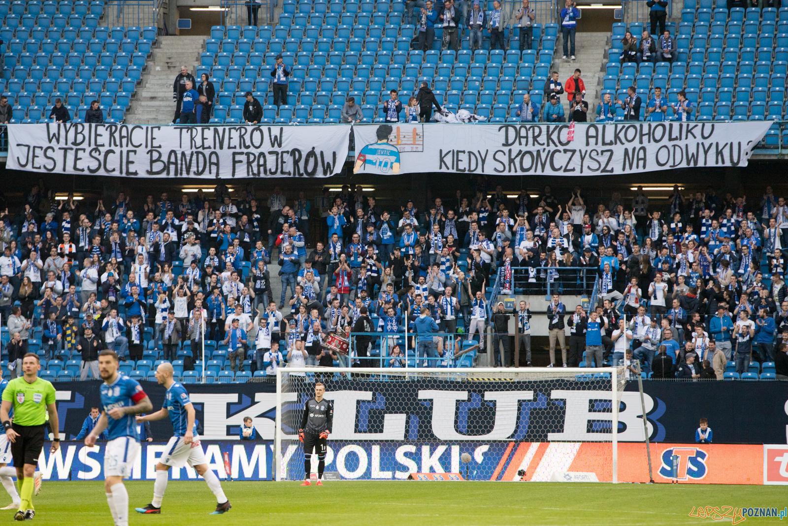 Lech Poznań - Pogoń Szczecin  Foto: lepszyPOZNAN.pl/Piotr Rychter