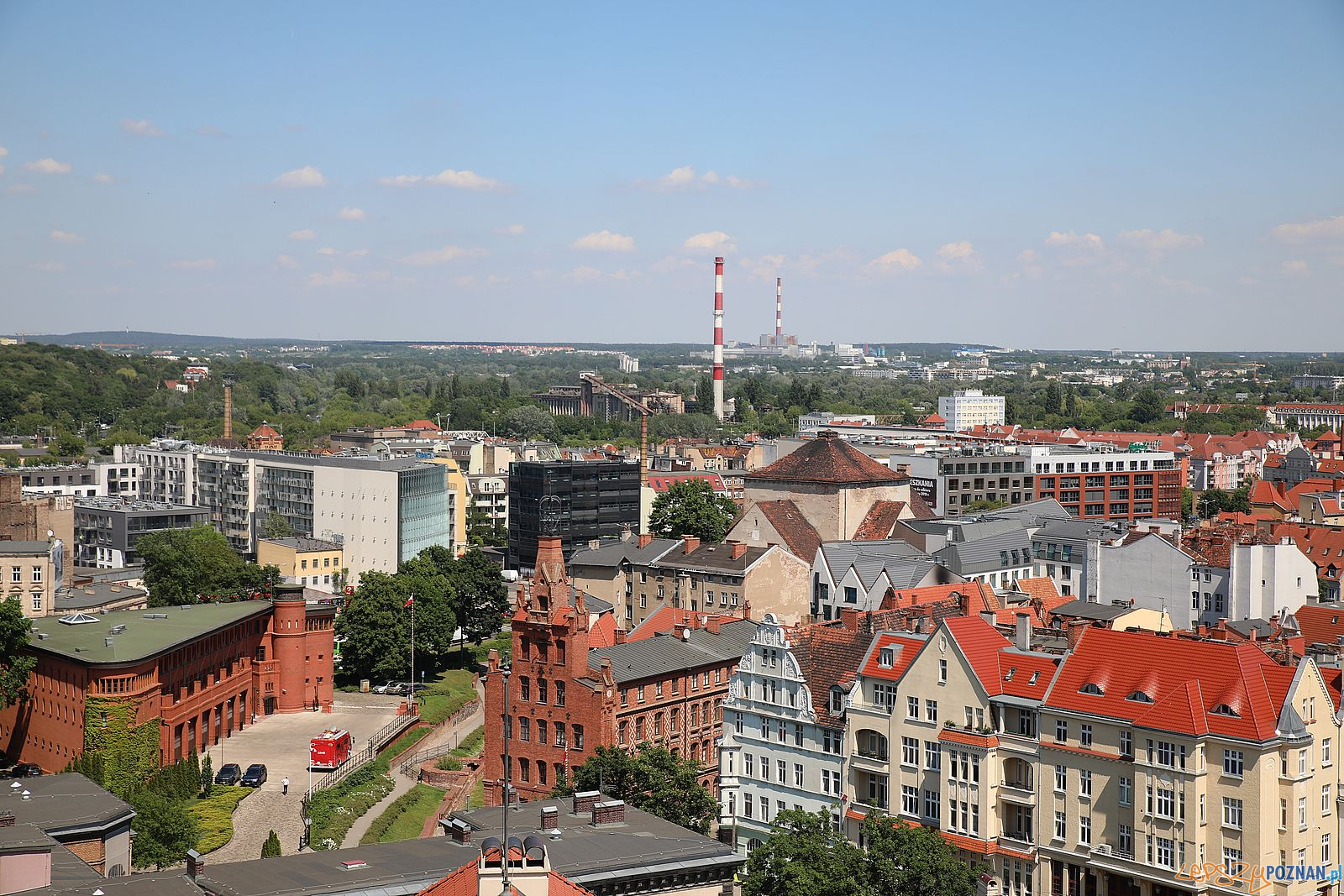 Poznan panorama polnoc wschod  Foto: Tomasz Dworek