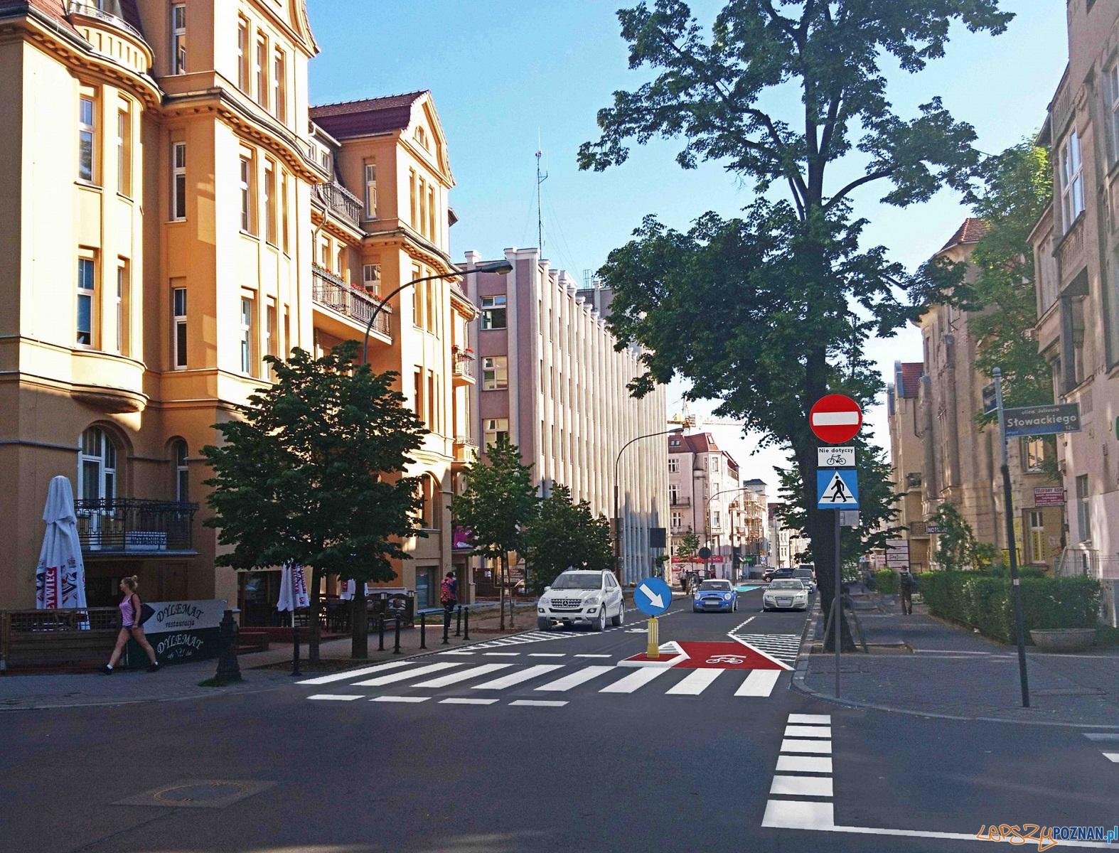 Wizualizacja zmian na ulicy Mickiewicza  Foto: materiały prasowe / ZDM