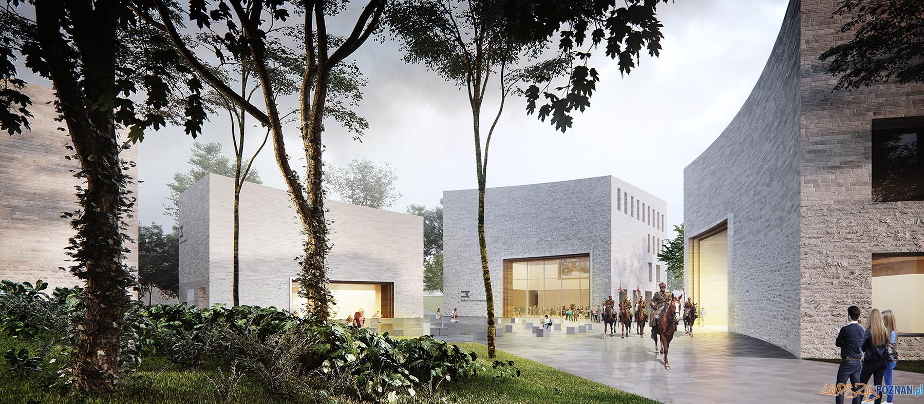 koncepcja nowej siedziby Muzeum Powstania Wielkopolskiego w Poznaniu zmniejszony  Foto: materiały prasowe / WXCA