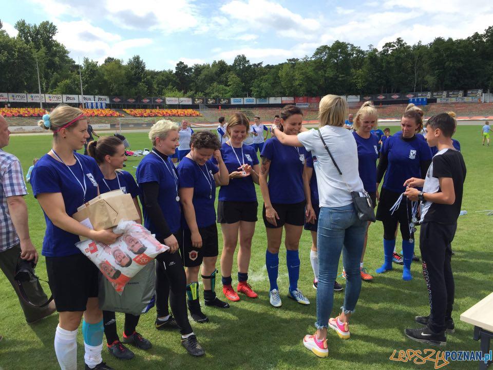 Babskie Granie 30+ turniej piłki nożnej kobiet  Foto: KU AZS UAM