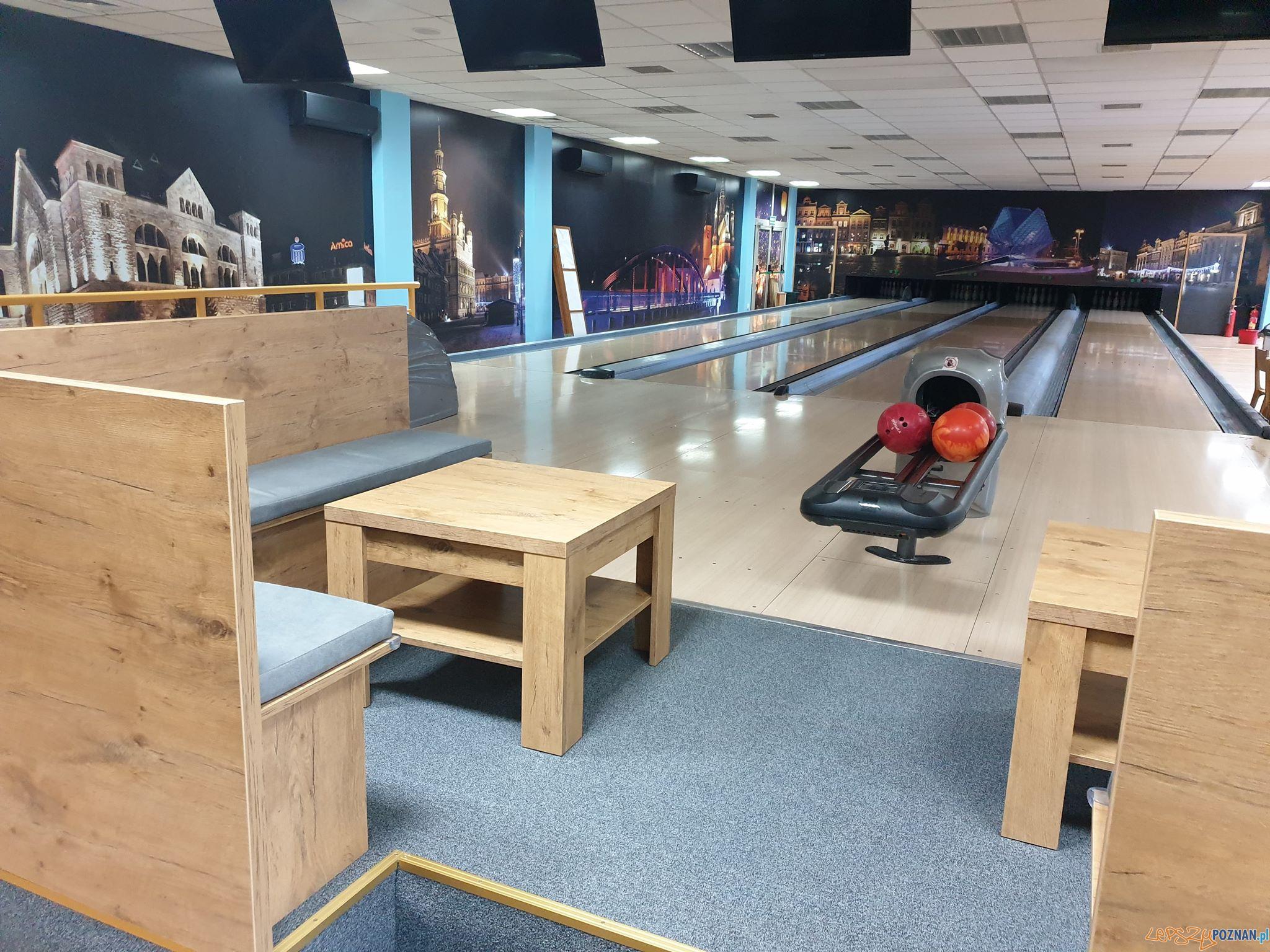 Bowling na Ratajach otwarty po remoncie