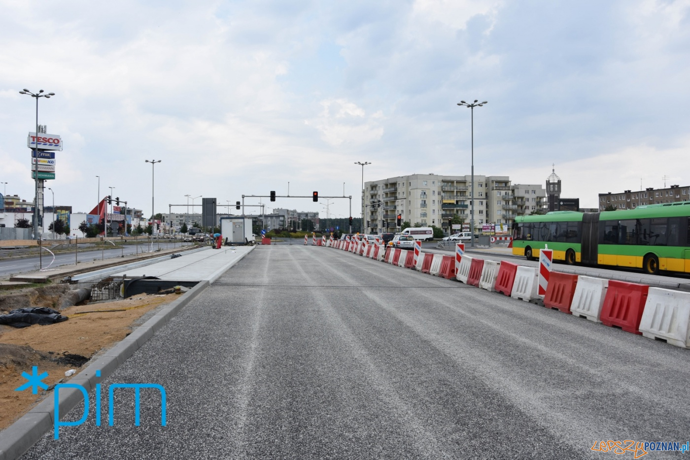 Remont wiaduktu nad PST Szymanowskiego wkracza w kolejną fazę  Foto: materiały prasowe / PIM