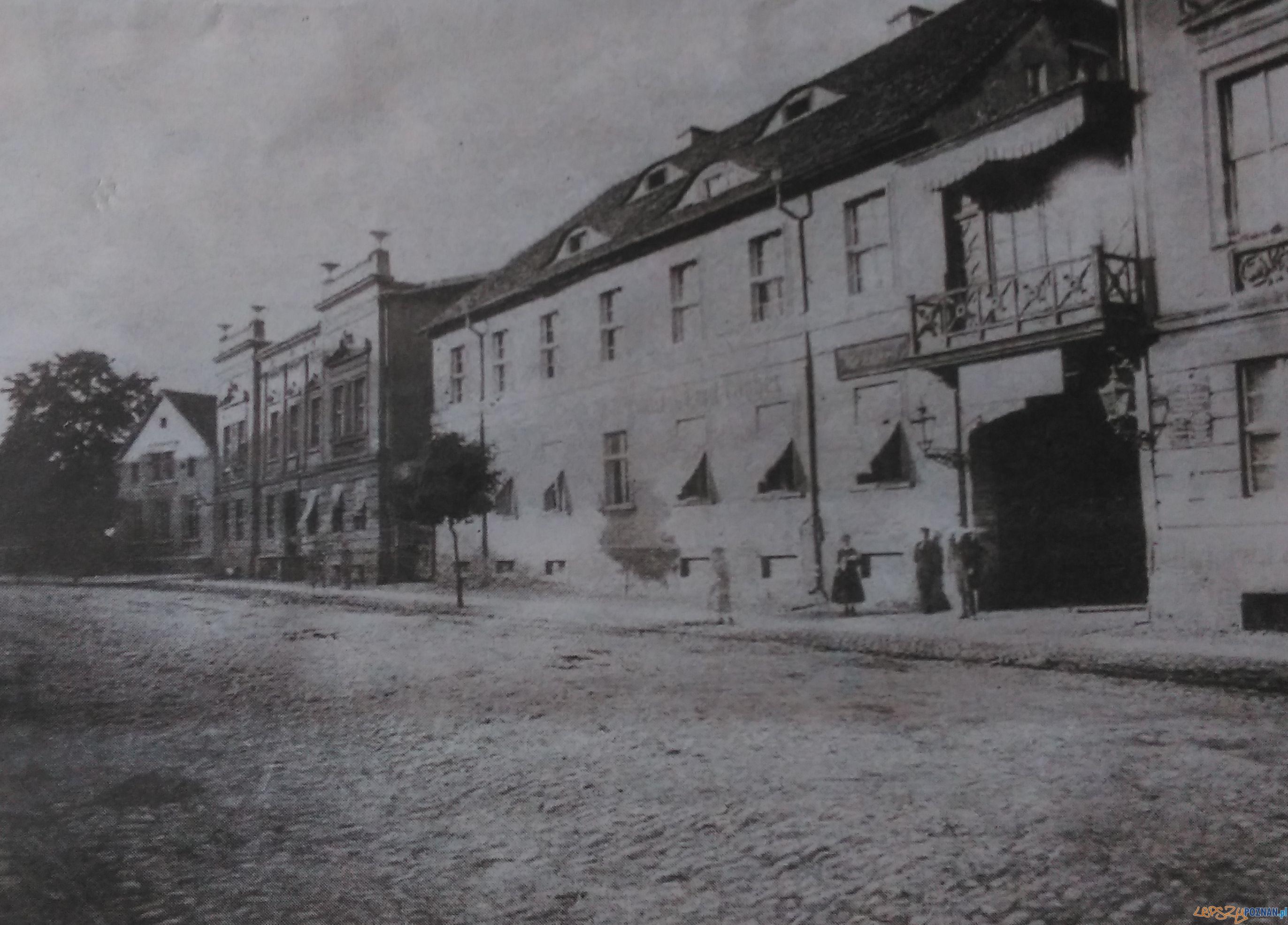 Libelta - Krolewska przed 1885  Foto: Kronika Miasta Poznania, nr 1/2008