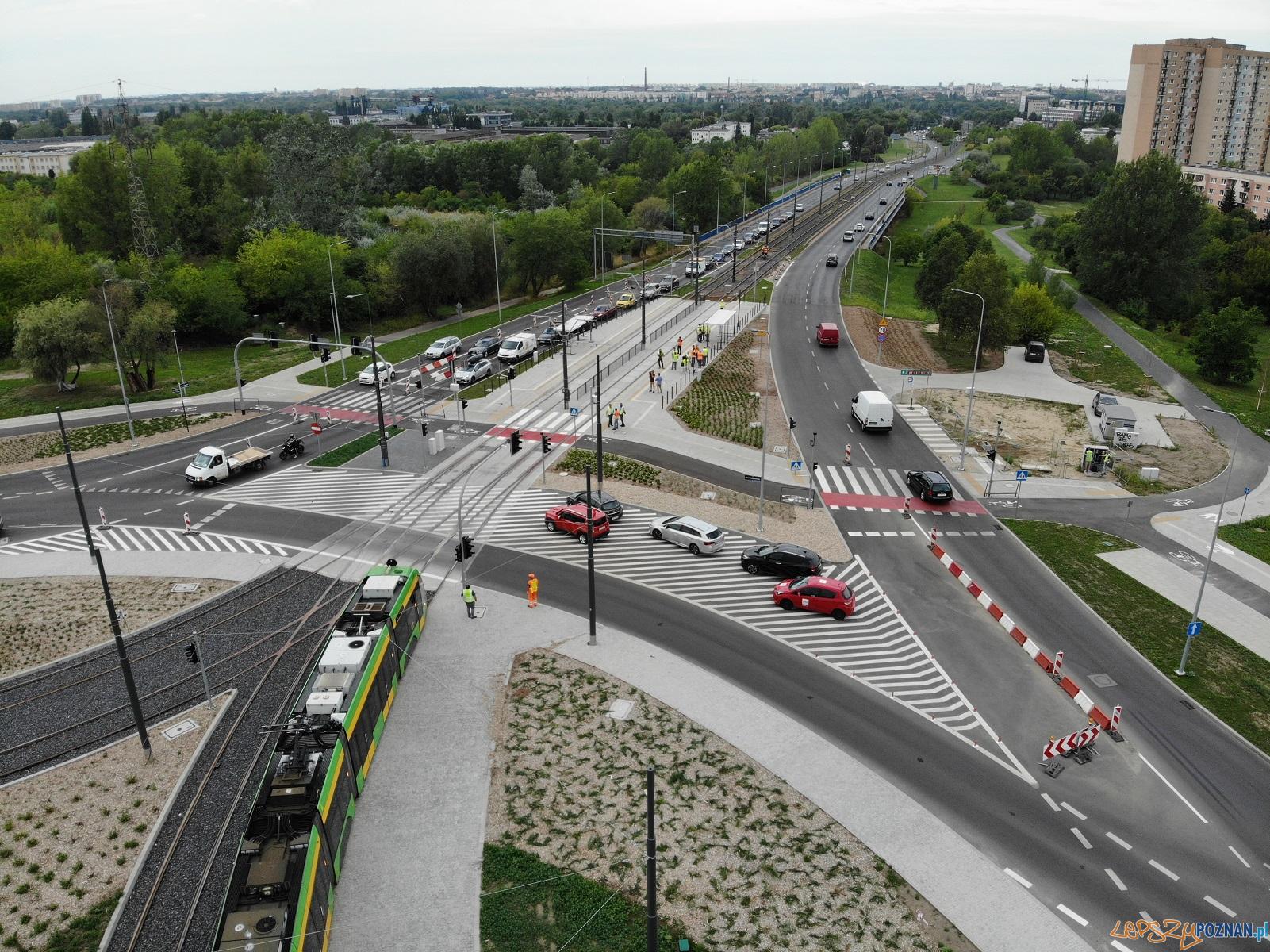 Pierwsze tramwaje na GTR  Foto: matreiały prasowe / UMP
