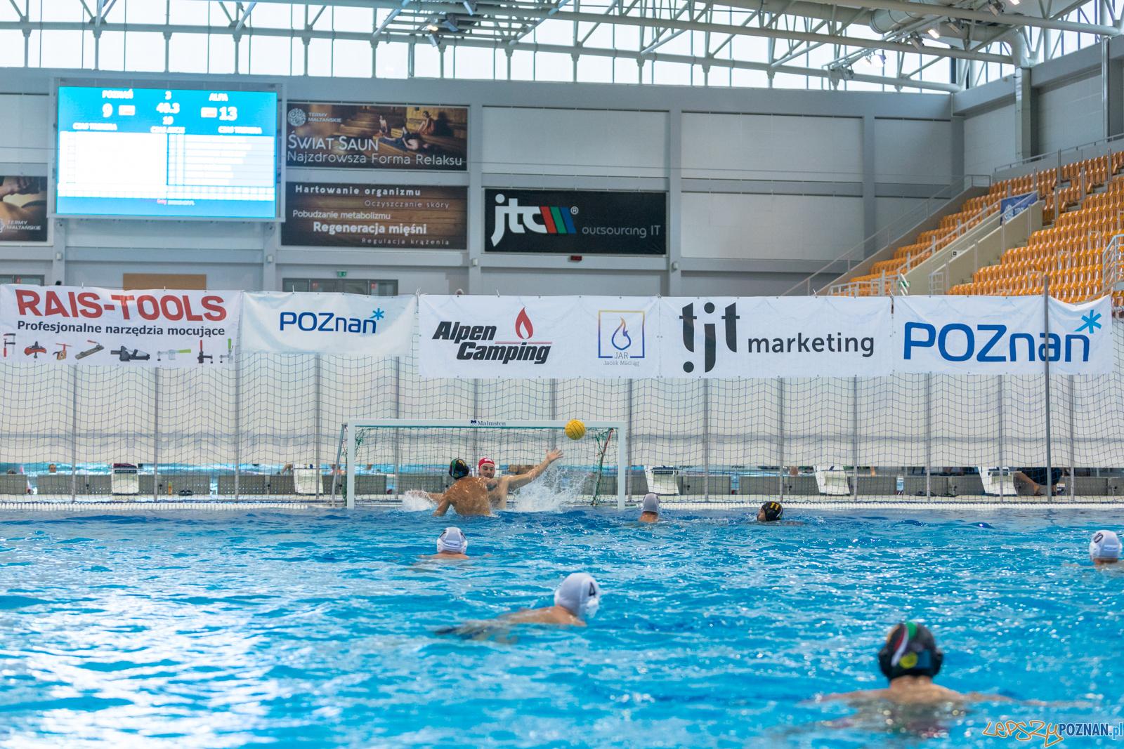 Waterpolo Cup 2019 - Waterpolo Poznań - Alfa Gorzów Wielkopols  Foto: lepszyPOZNAN.pl/Piotr Rychter