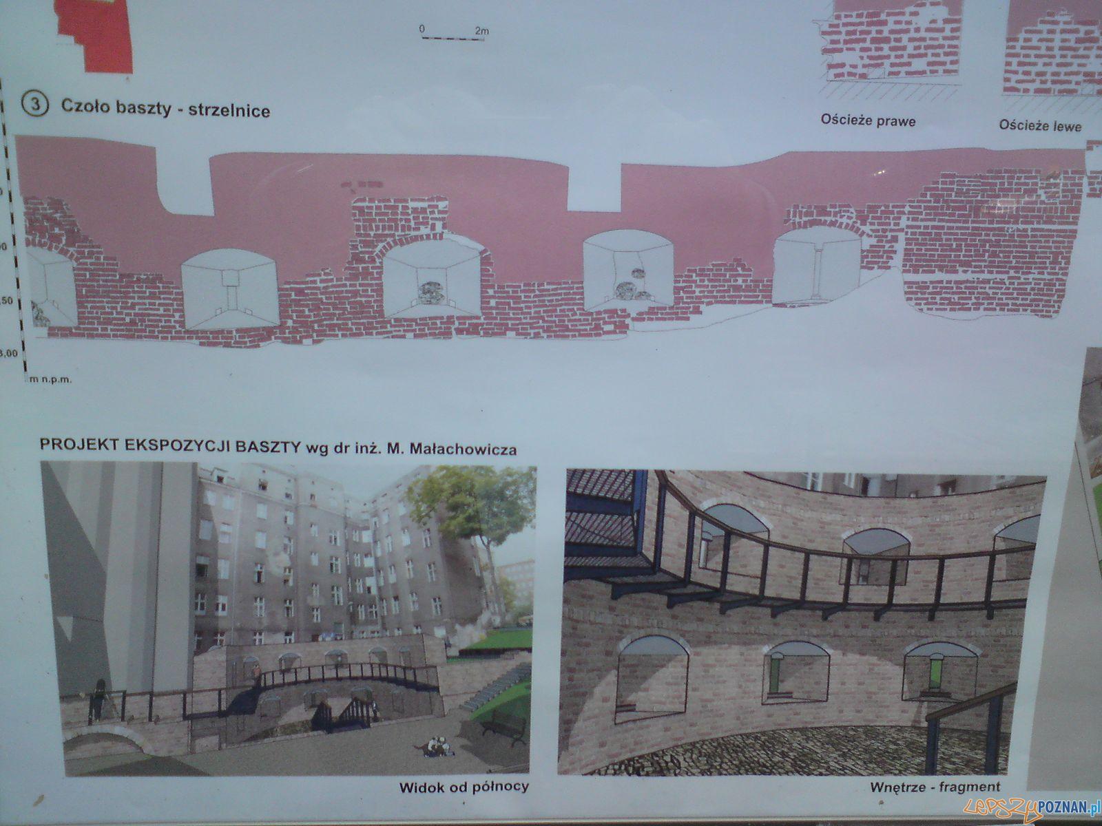 Baszta Armatnia na terenie dawnego szpitala przy Szkolnej  Foto: