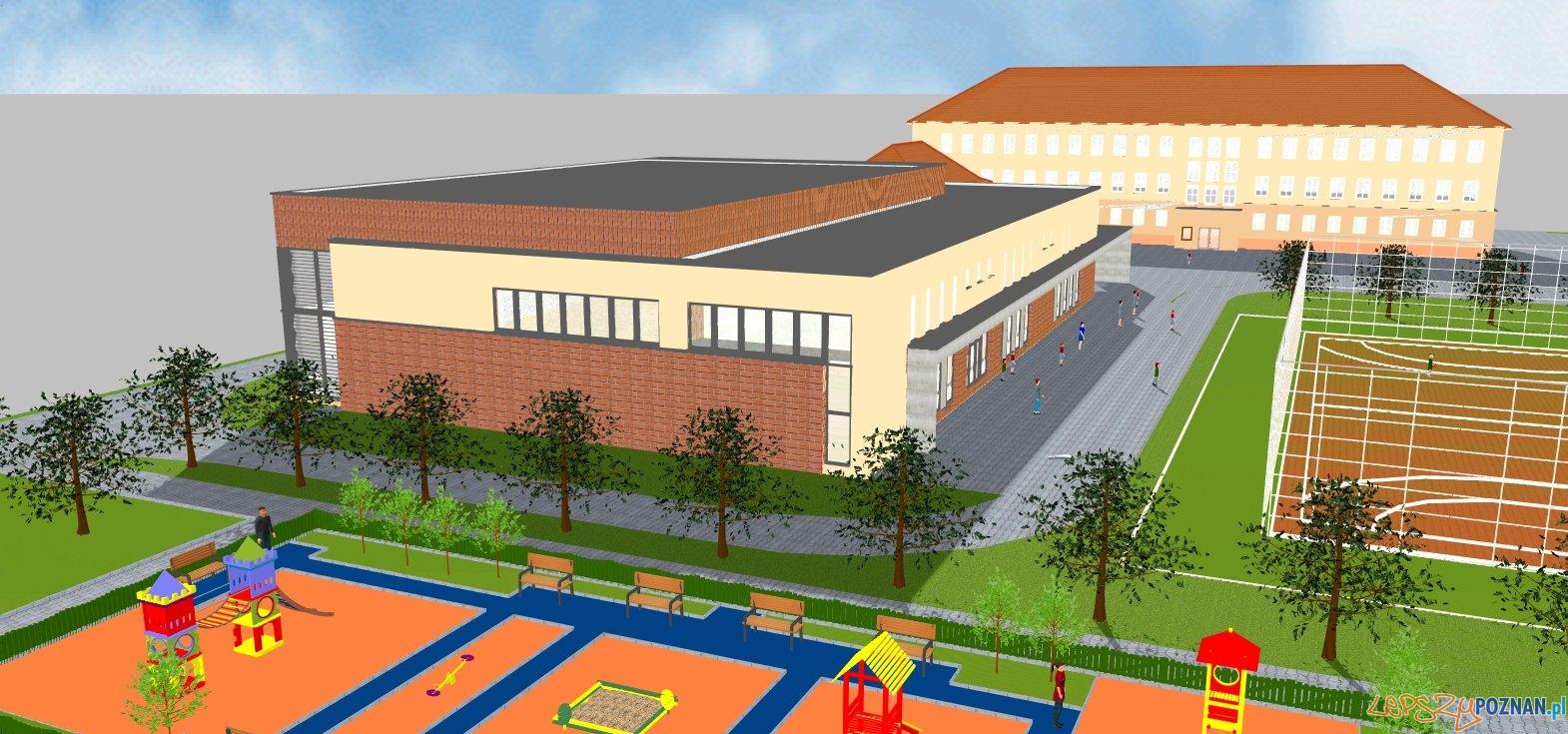 Szkoła w Swarzedzu - wizualizacja  Foto: UMiG w Swarzędzu
