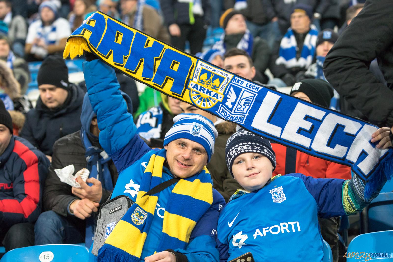 Lech Poznań - Arka Gdynia (najlepsi kibice na świecie)  Foto: lepszyPOZNAN.pl/Piotr Rychter
