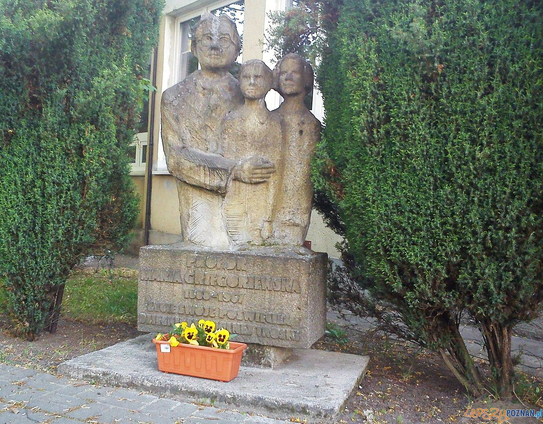 Maria Grzegorzewska pomnik  Foto: MOS8 / wikipedia / CC