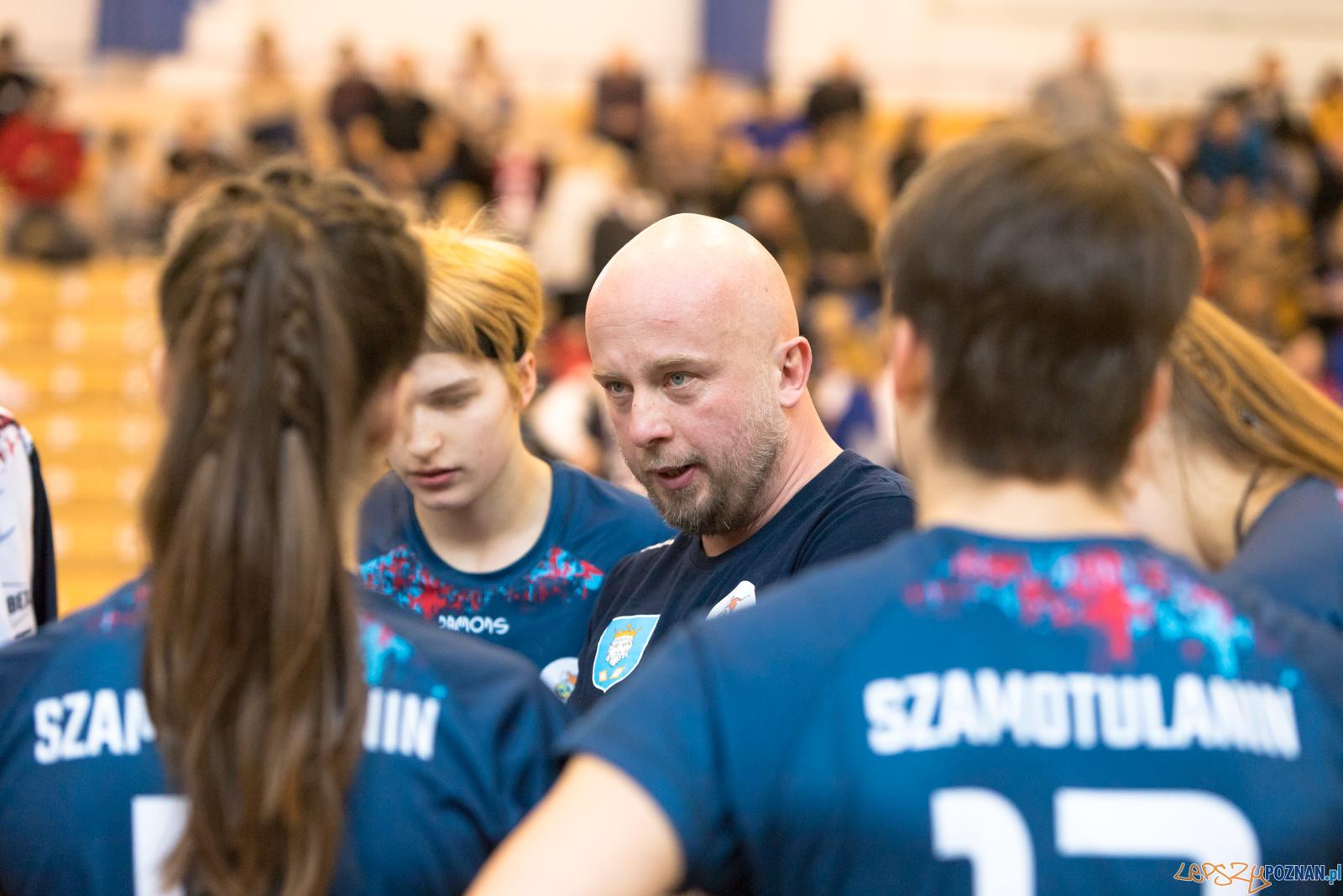 Mistrzostwa Wielkopolski Juniorek - UKS Szamotulanin Szamotuły  Foto: lepszyPOZNAN.pl/Piotr Rychter