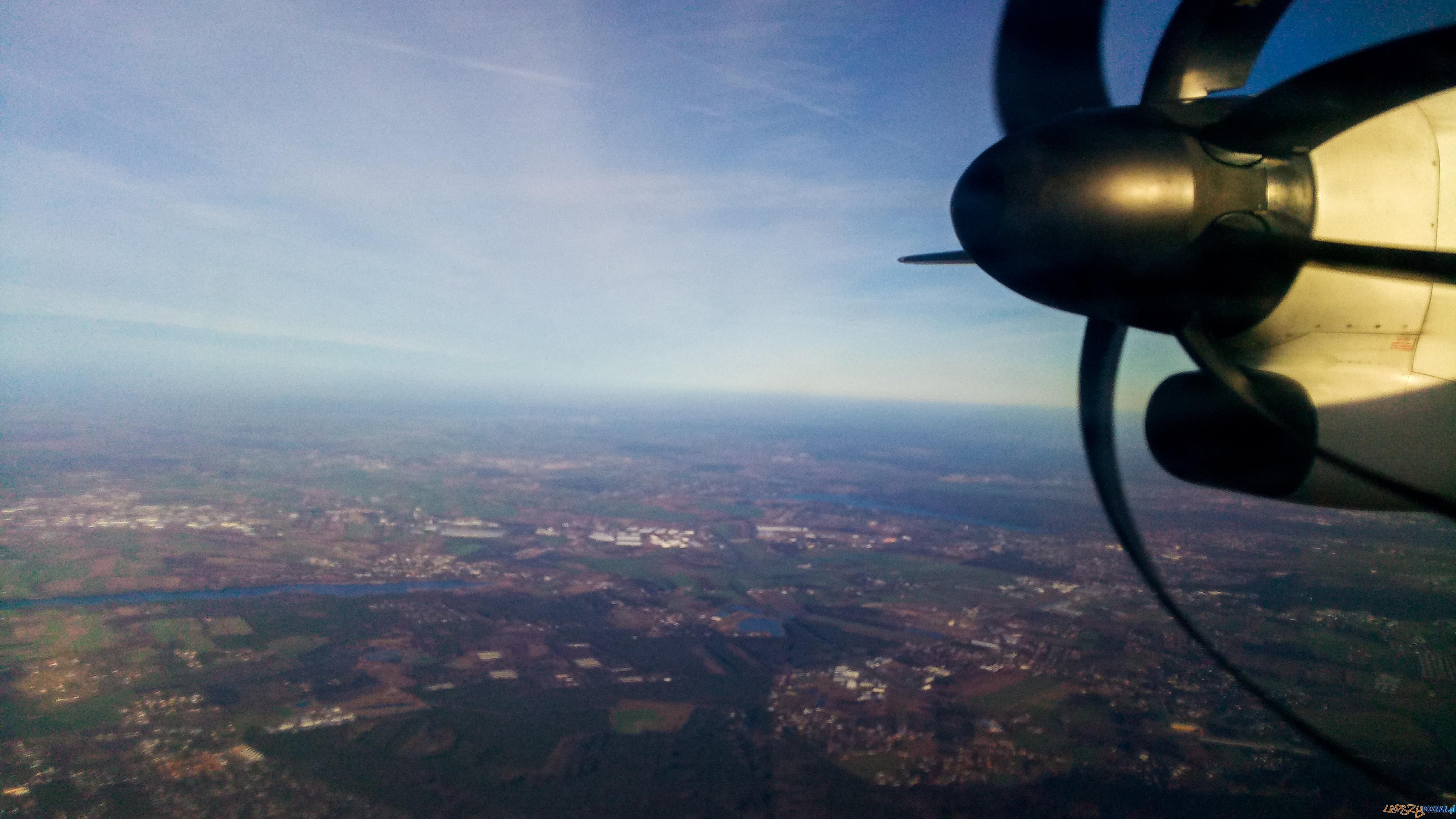 Samolot  Foto: lepszyPOZNAN.pl / gsm