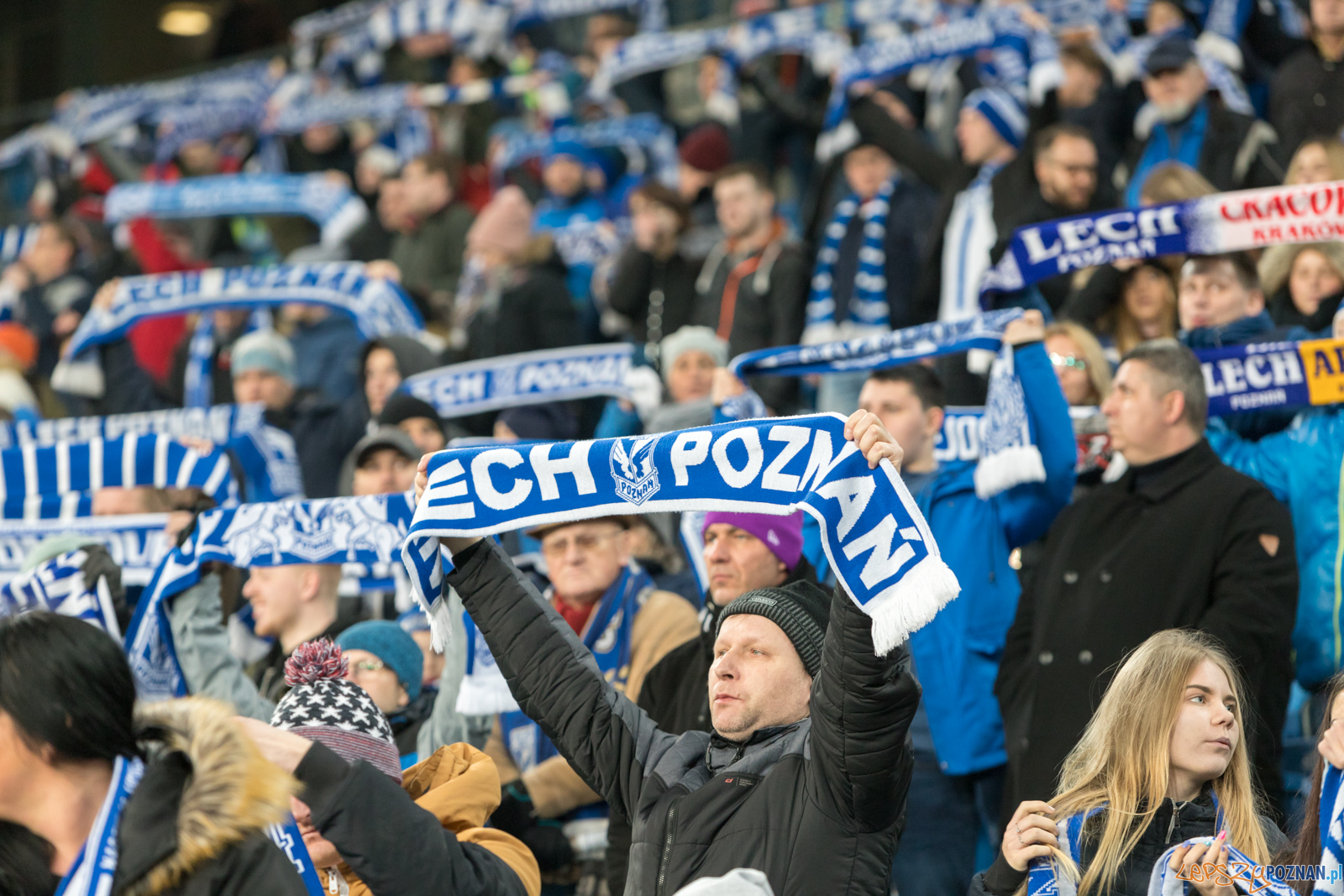Lech Poznań - Raków Częstochowa (najlepsi kibice na świecie)  Foto: lepszyPOZNAN.pl/Piotr Rychter
