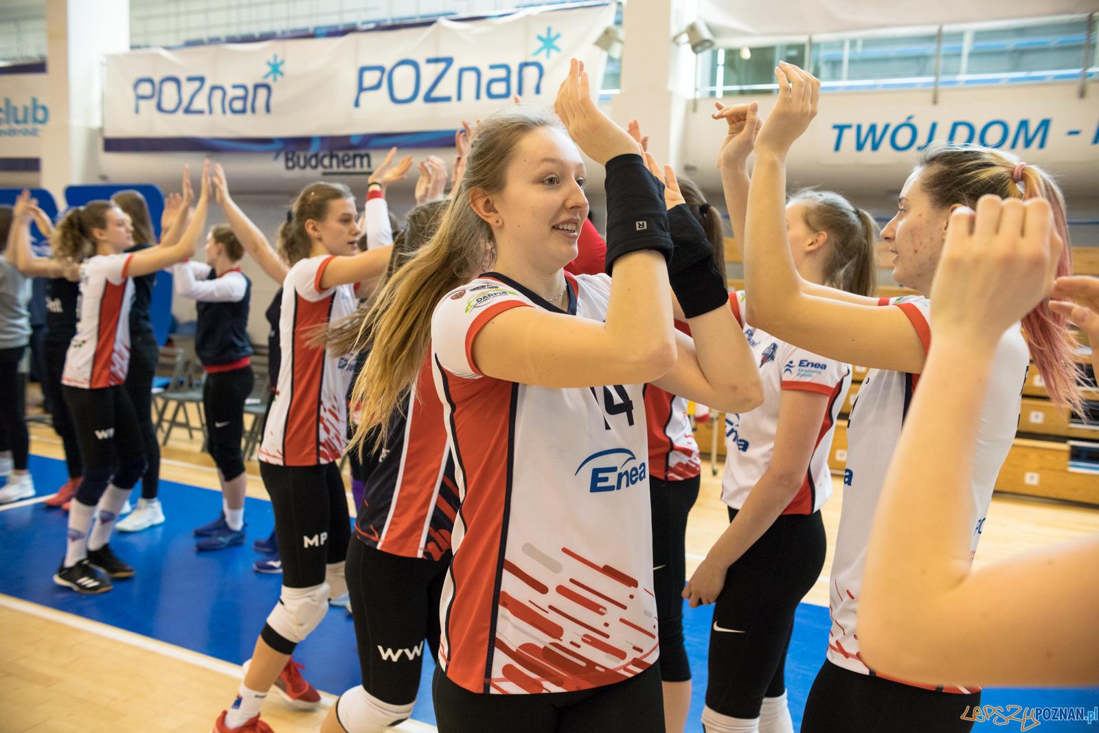 Enea Energetyk Poznań - UKS Szamotulanin Szamotuły  Foto: lepszyPOZNAN.pl/Piotr Rychter