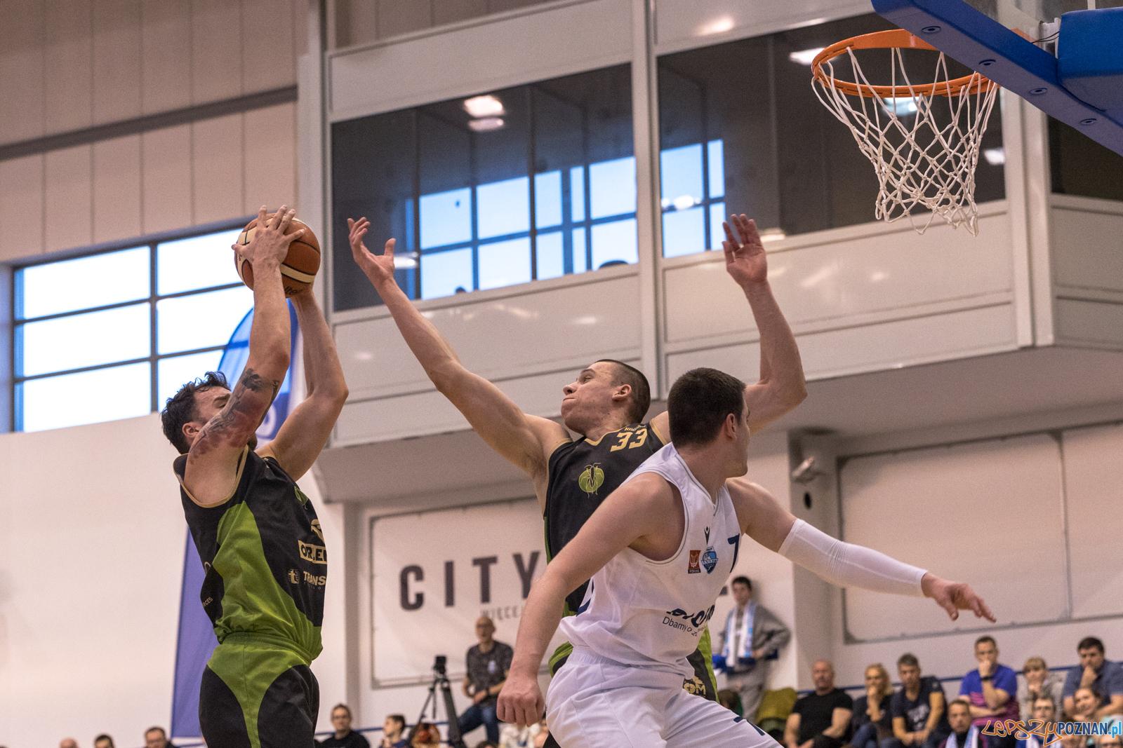 Miasto Szkła Krosno - Biofarm Basket Poznań 65:74 - Poznań 8.  Foto: LepszyPOZNAN.pl / Paweł Rychter
