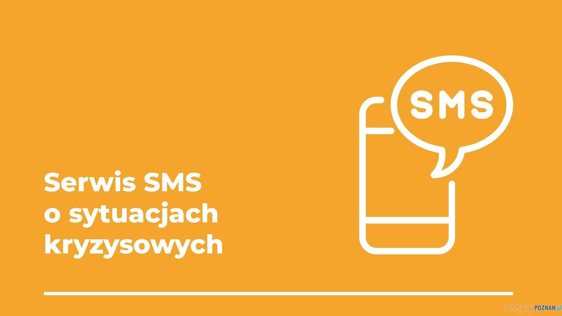 Serwis SMS o sytuacjach kryzysowych  Foto: materiały prasowe / UMP