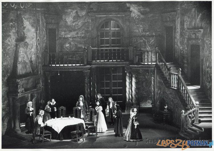 Czarna maska, premiera w Operze- 25.10.1987  Foto: Zbigniew Staszyszyn Instytut Teatralny / Encyklopedia Teatru