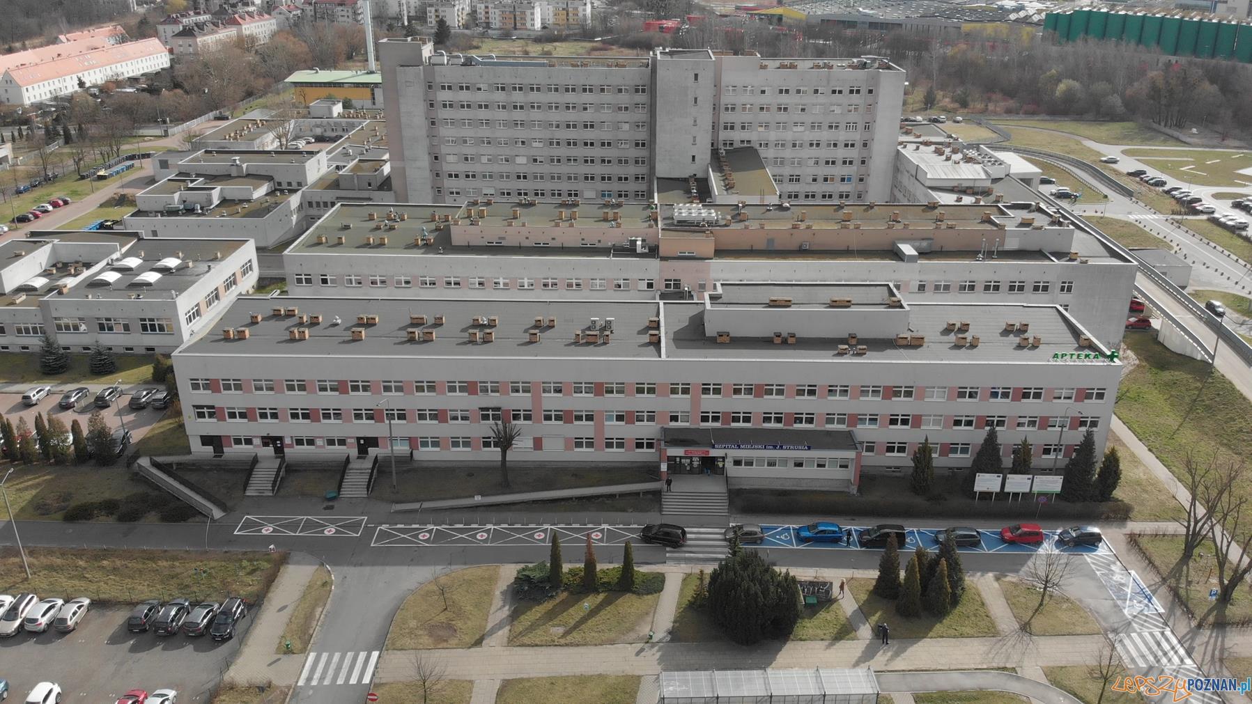 Szpital Miejski im. Józefa Strusia  Foto: materiały prasowe / UMP