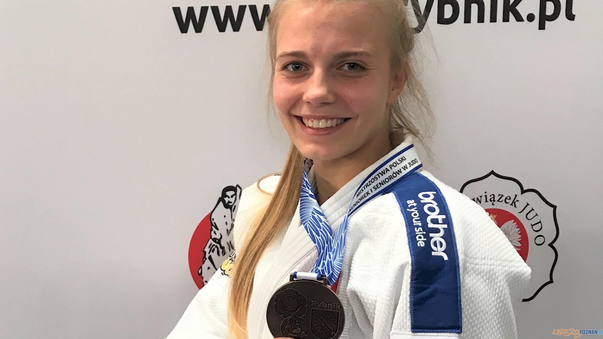 Eliza Wróblewska, zawodniczka Akademii Judo Poznań  Foto: Akademia Judo Poznań