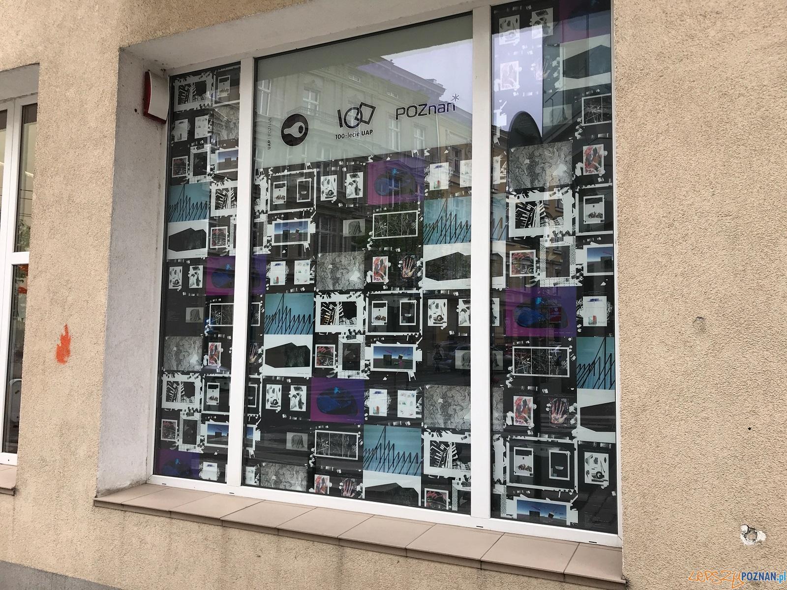 Studencka galeria w wystawowym oknie  Foto: materiały UAP