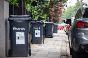 Odbiór odpadów ZM GOAP FBserwis, kosze  Foto: Maciej Nowaczyk fbserwis - materiały prasowe