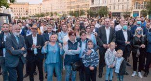 Obywatelski Wieczór Wyborczy  Foto: lepszyPOZNAN.pl/Piotr Rychter