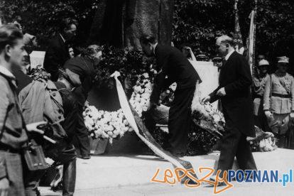 Pomnik Wilsona odsloniecie 1931 [IKC NAC] (2)  Foto: IKC NAC