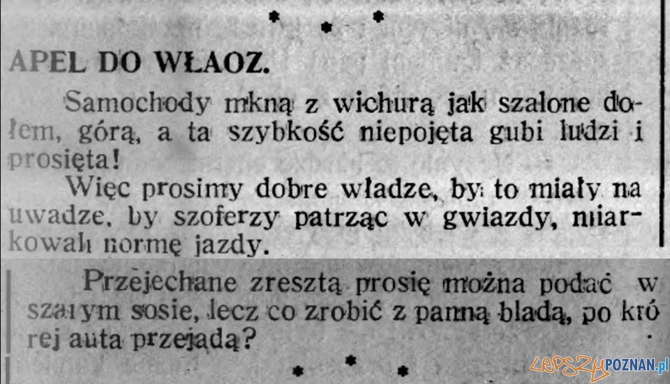 Samochody Tygodnik Praca 18.07.2020 [fv w poznaniu 100 lat temu]  Foto:
