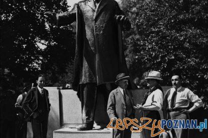 Pomnik Wilsona 1931 - [IKC NAC]  Foto: