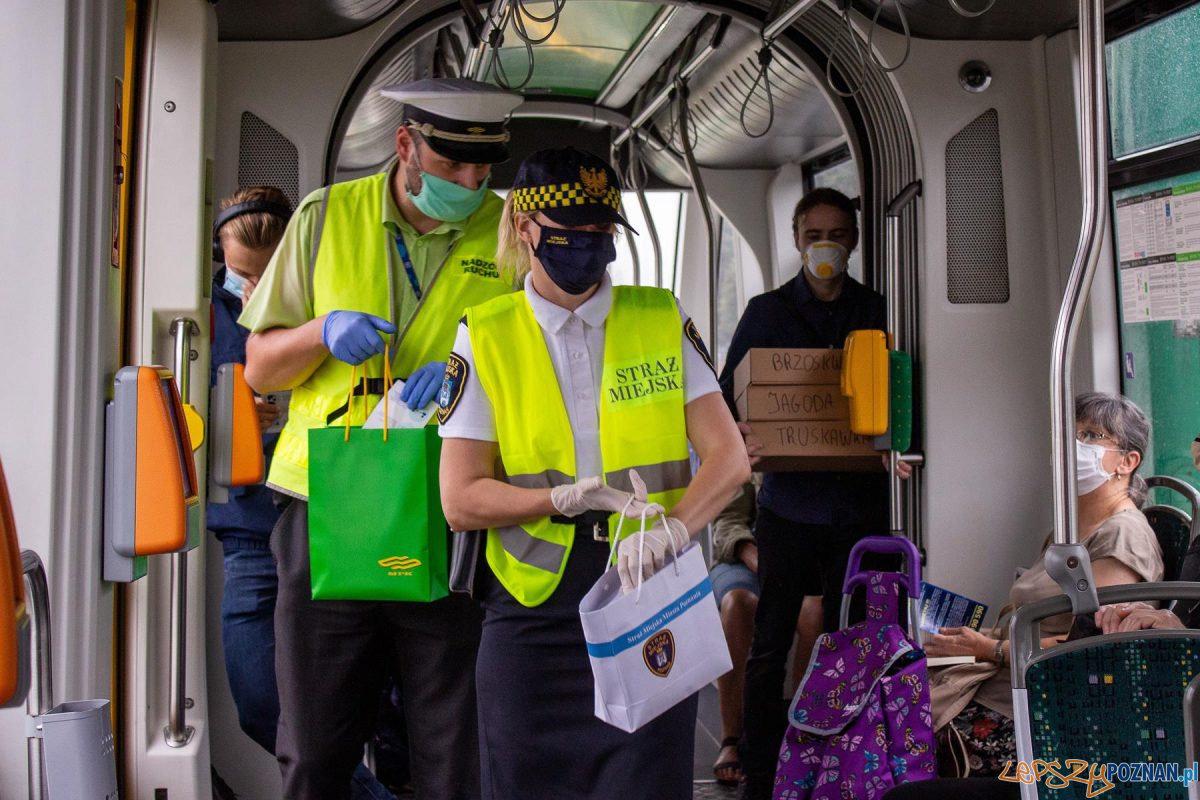 Akcja Straży Miejskiej i MPK w tramwajach Foto: MPK