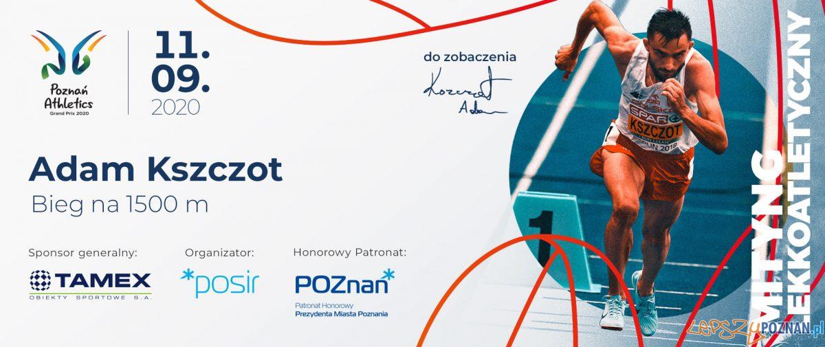 Poznań Athletics Grand Prix 2020 Foto: materiały prasowe