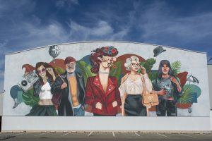Nowy mural na WGO  Foto: materiały prasowe / MUR•ALL Studio