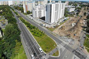 Przebudowa skrzyżowania Naramowicka, Serbska  Foto: materiały prasowe