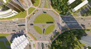 Wizualizacja przebudowy Ronda Rataje  Foto: materiały prasowe