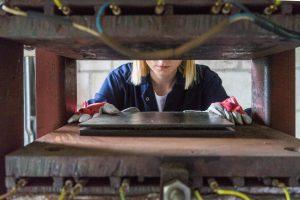 process hot pressing  Foto: materiały praswe