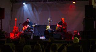 Skubas gra w duecie w Kontenerart  Foto: lepszyPOZNAN.pl/Ewelina Jaśkowiak
