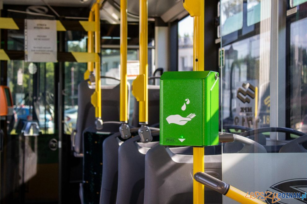 Nowe dezynfektory w tramwajach i autobusach  Foto: MPK